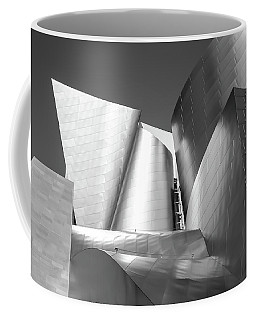 Coffee Mug featuring the photograph Disney_concert_hall by Mark Shoolery