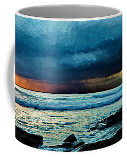 Distant Rain Clouds Coffee Mug