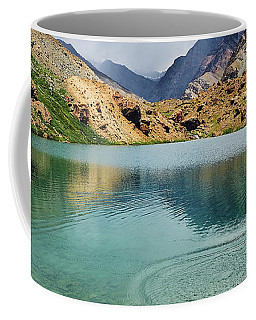 Coffee Mug featuring the photograph Distant Rains by Whitney Goodey