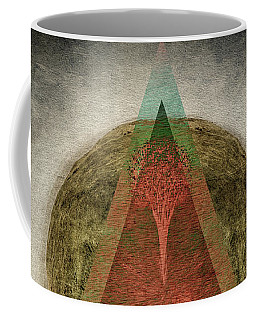 Coffee Mug featuring the digital art Divided by Edmund Nagele