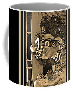 Diving The Great Barrier Reef In Black And White And Sepia Tones Coffee Mug