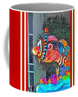 Diving The Great Barrier Reef On A Sunny Day Coffee Mug