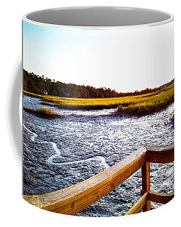 Coffee Mug featuring the photograph Dock Point by Robert Knight
