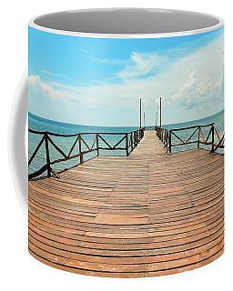 Dock To Infinity Coffee Mug