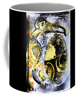 Coffee Mug featuring the painting Dodo by 'REA' Gallery