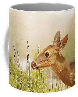 Doe At Dawn Coffee Mug