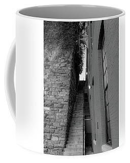 Coffee Mug featuring the photograph Does Evil Lurk Above? by Lora J Wilson