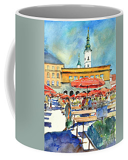 Dolce Market In Zagreb #1 Coffee Mug