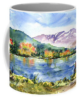 Donner Lake Fisherman Coffee Mug