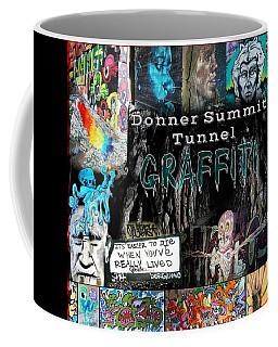 Donner Summit Graffiti Coffee Mug