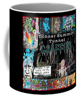 Donner Summit Graffiti Coffee Mug