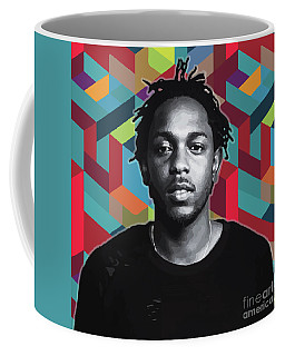 Coffee Mug featuring the painting Don't Kill My Vibe Kendrick by Carla B