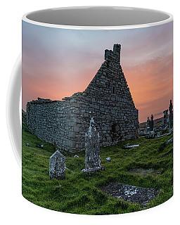 Doolin Ireland Graveyard At Sunrise Coffee Mug