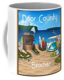 Door County Beaches Coffee Mug