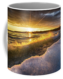Door County Sunset Coffee Mug