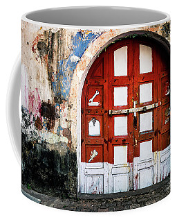 Doors Of India - Garage Door Coffee Mug