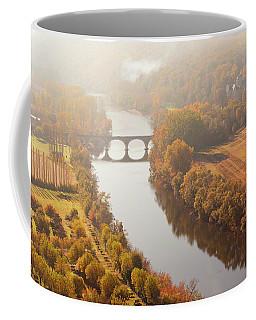 Dordogne River In The Mist Coffee Mug