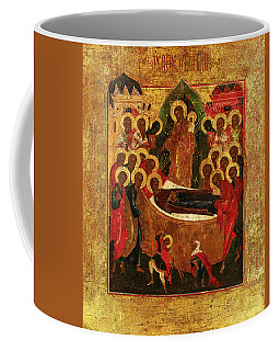 Dormition And The Elevation Of The True Cross, Russia, 19th Century Coffee Mug