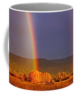 Double Gold Coffee Mug