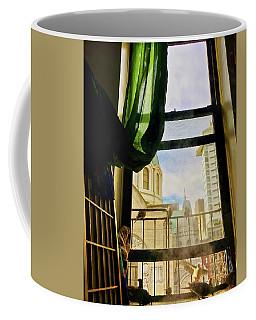 Doves In My Window Coffee Mug