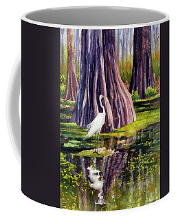 Down In The Swamplands Coffee Mug