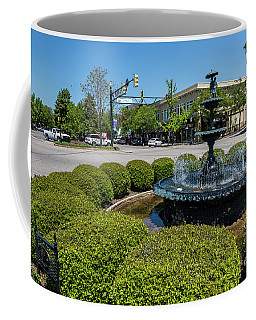 Downtown Aiken Sc Fountain Coffee Mug