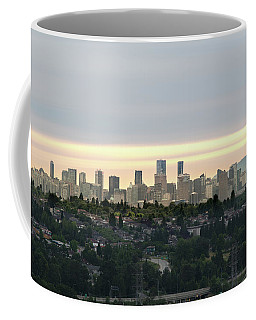Downtown Sunset Coffee Mug