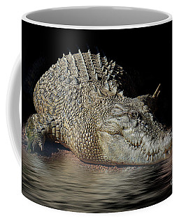 Dozy Crocodile Coffee Mug