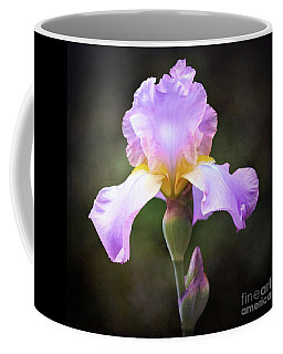Dramatic Purple Iris Coffee Mug
