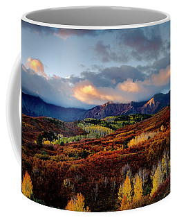 Dramatic Sunrise In The San Juan Mountains Of Colorado Coffee Mug
