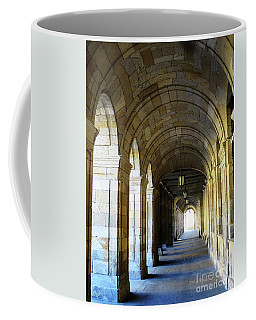Coffee Mug featuring the photograph Drawn To The Light by Rick Locke