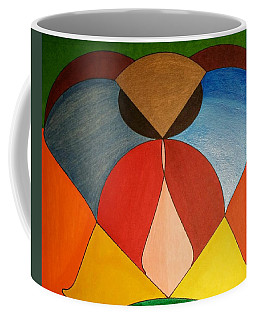 Coffee Mug featuring the painting Dream 336 by S S-ray