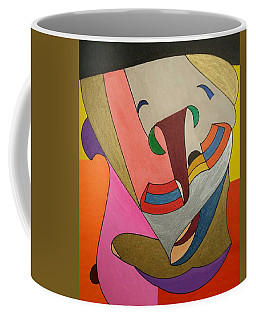 Coffee Mug featuring the painting Dream 337 by S S-ray