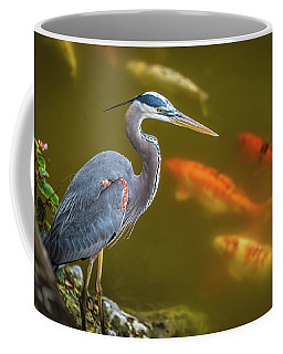 Dreaming Tricolor Heron Coffee Mug