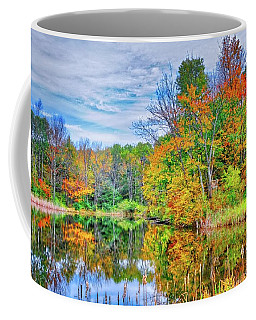 Coffee Mug featuring the photograph Dreams Of Fall In The Finger Lakes by Lynn Bauer