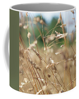 Coffee Mug featuring the photograph Dried Grass Out Of Focus by Scott Lyons