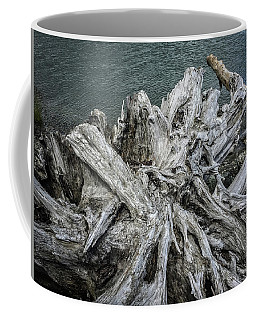 Coffee Mug featuring the photograph Driftwood by Mark Duehmig