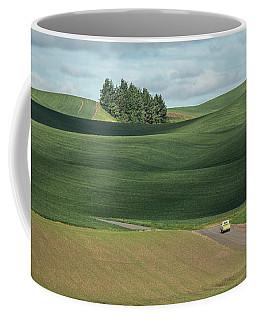 Drive In The Palouse Coffee Mug