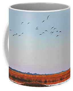 Dropping In - Teal Coffee Mug