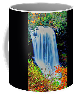 Coffee Mug featuring the photograph Dry Falls Front November by Meta Gatschenberger