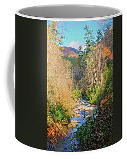 Coffee Mug featuring the photograph Dry Falls Stream by Meta Gatschenberger