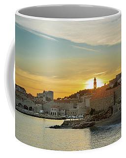 Dubrovnik Old Town At Sunset Coffee Mug