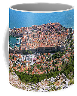 Dubrovnik Panorama From The Hill Coffee Mug