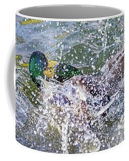 Duck Fight Coffee Mug