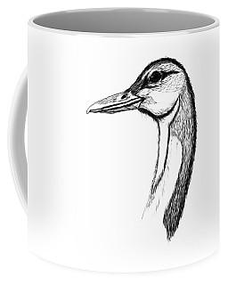 Duck Paint My Sketch Coffee Mug