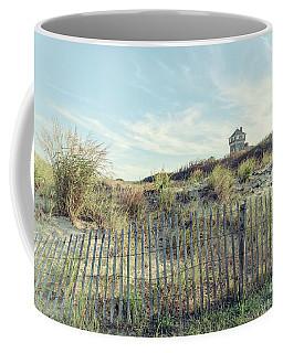 Dune Fence And Grass Coffee Mug