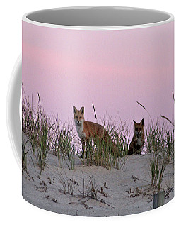 Dune Foxes Coffee Mug
