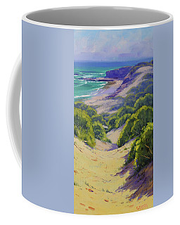 Dunes To The Beach Coffee Mug