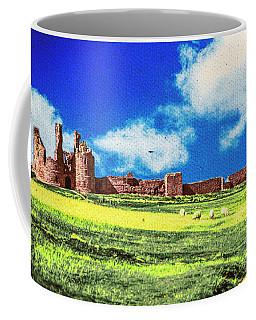 Dunstanburgh Castle In Oil Coffee Mug