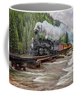 Durango Silverton Train 476 Coffee Mug